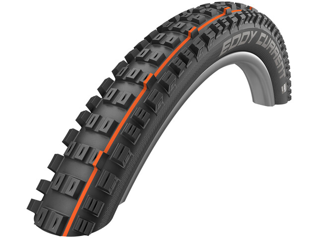 "SCHWALBE Eddy Current Front Evo Vouwband TLE E-25 Addix Soft 27.5"", black"